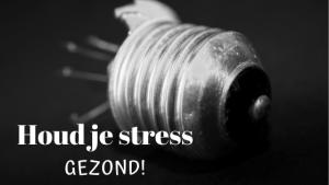 Houd je stress gezond!
