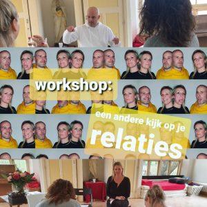 foto impressie van relatie workshop